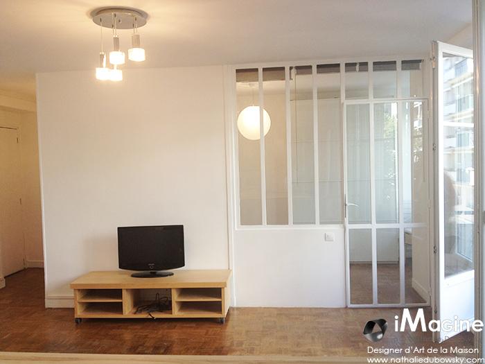 separation salon chambre a coucher design de maison. Black Bedroom Furniture Sets. Home Design Ideas